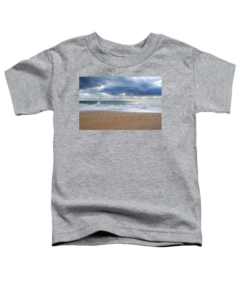 Earth's Layers - Jersey Shore Toddler T-Shirt
