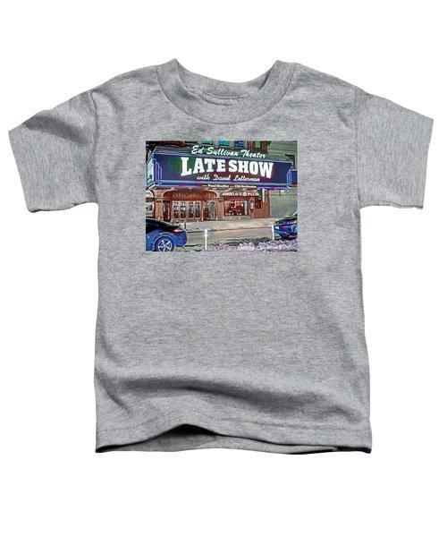 Ed Sullivan Theater Toddler T-Shirt