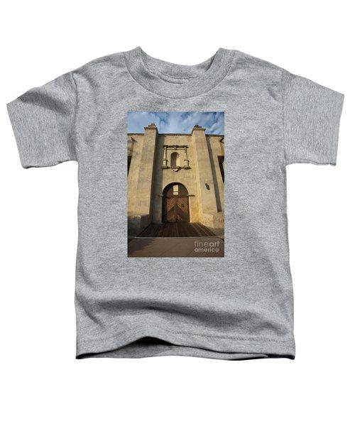 El Camino Real Door Entrance Way San Gabriel Mission Toddler T-Shirt