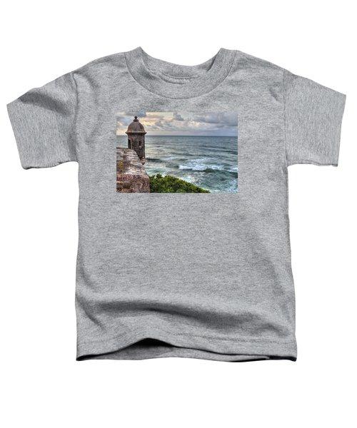 El Morro Sunset Toddler T-Shirt