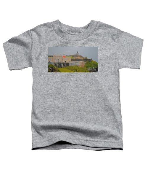 Scenic El Morro Toddler T-Shirt