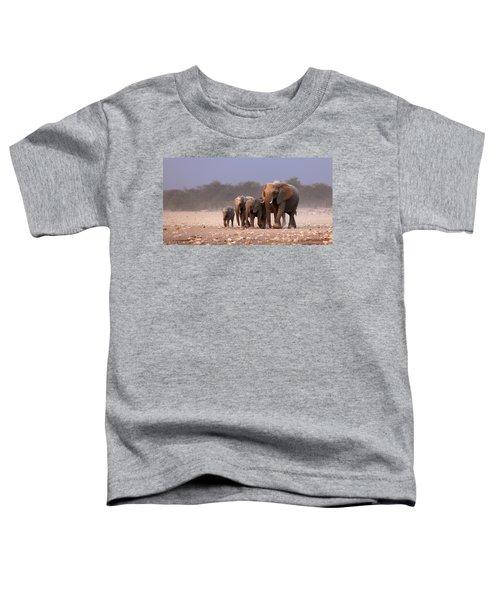 Elephant Herd Toddler T-Shirt