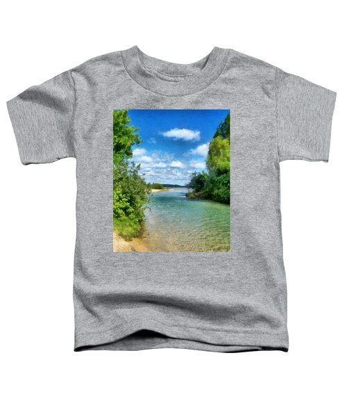 Elk River- Elk Rapids Michigan Toddler T-Shirt