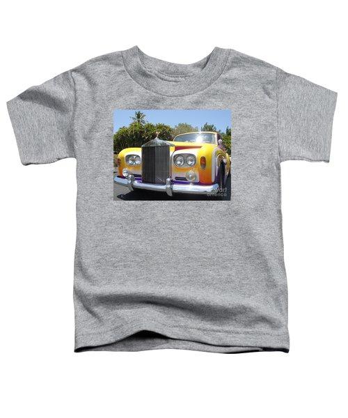 Elton John's Old Rolls Royce Toddler T-Shirt by Barbie Corbett-Newmin