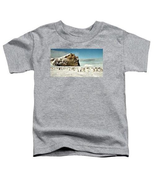 Emperor Penguin Colony Cape Washington Antarctica Toddler T-Shirt