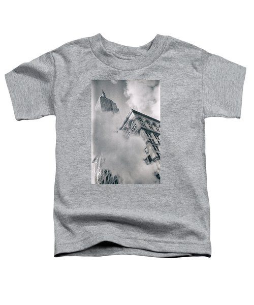 Empire State Building And Steam Toddler T-Shirt