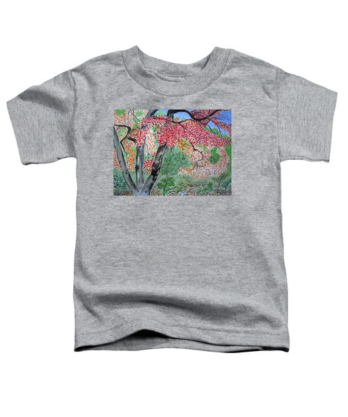 Enjoying Lost Maples Toddler T-Shirt