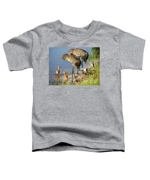 Enjoying The Water Toddler T-Shirt