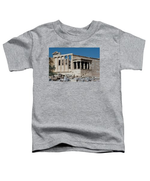 Erechtheion With The Porch Of Maidens Toddler T-Shirt