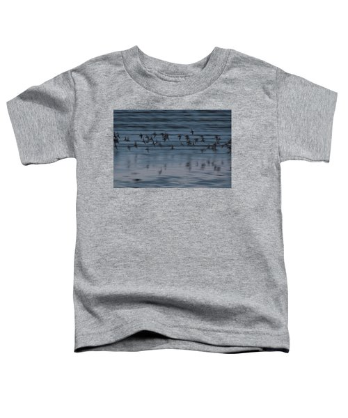 Toddler T-Shirt featuring the photograph Evening Abstract by Alex Lapidus
