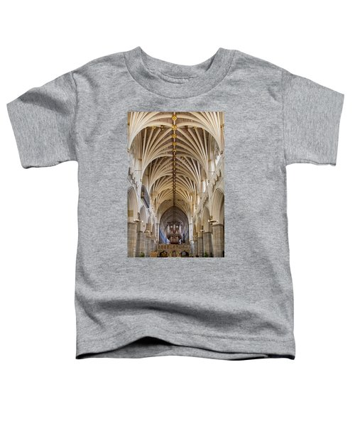 Exeter Cathedral And Organ Toddler T-Shirt