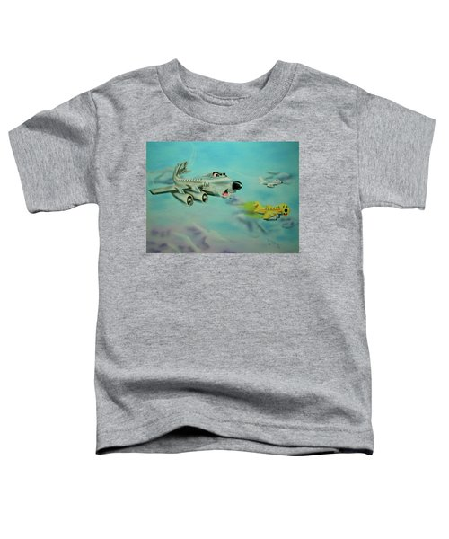 Extreme Airline Mergers Toddler T-Shirt