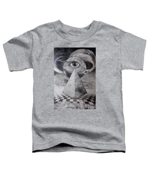Eye Of The Dark Star - Journey Through The Wormhole Toddler T-Shirt