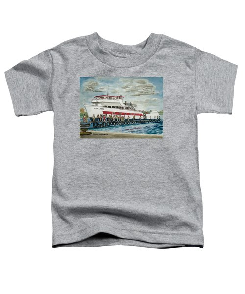 Fajardo Ferry From Vieques Puerto Rico Toddler T-Shirt
