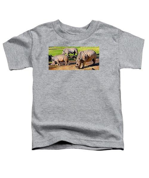 Family Feast Toddler T-Shirt by Miroslava Jurcik