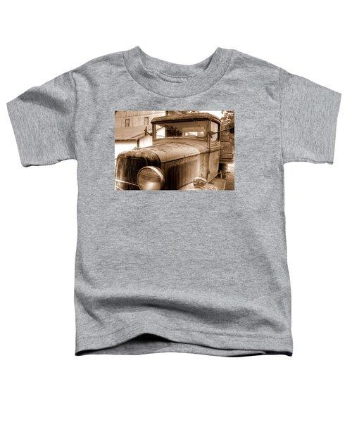 Toddler T-Shirt featuring the photograph Farmer's Best Friend by Andrea Platt