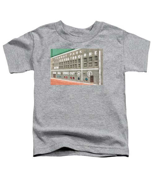 Fenway Park Scoreboard Toddler T-Shirt