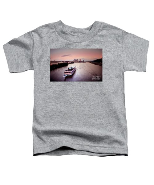 Ferry Boat At The Point In Pittsburgh Pa Toddler T-Shirt