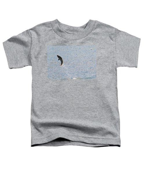 Fighting Chinook Salmon Toddler T-Shirt