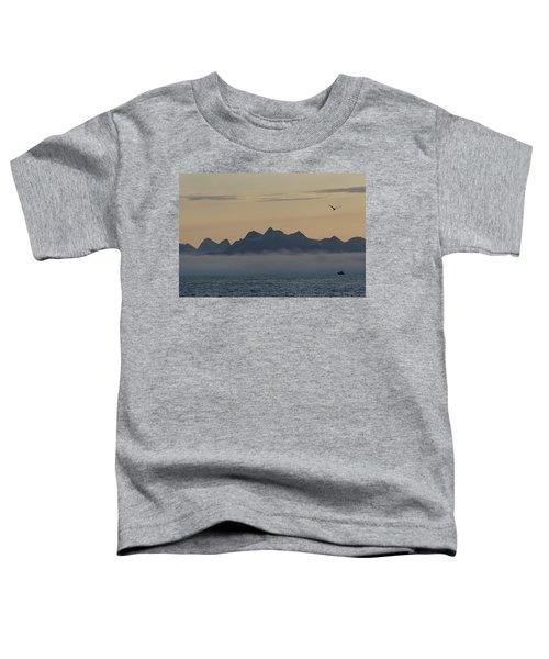 Fiord Near Qaqortoq, Greenland Toddler T-Shirt