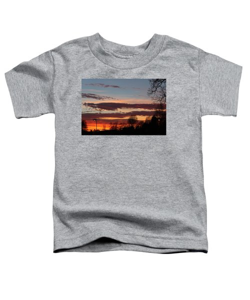 Fire In The Sky Toddler T-Shirt