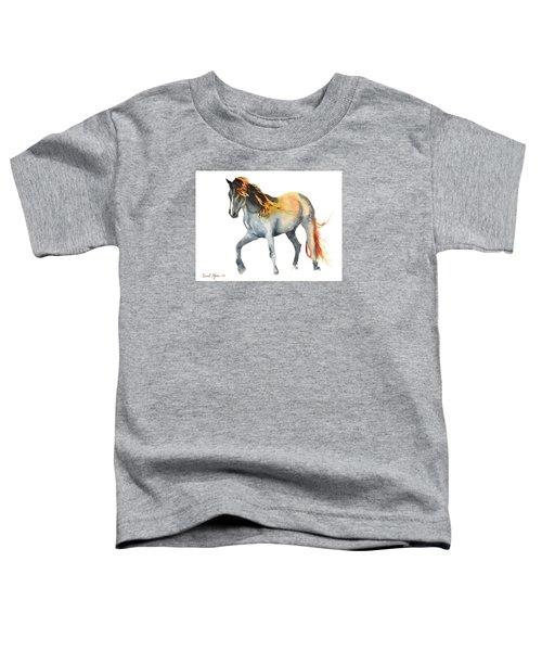 Da110 Fire Mane By Daniel Adams Toddler T-Shirt