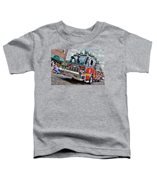 Firetruck Toddler T-Shirt