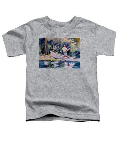 Fishing Spruce Creek Toddler T-Shirt