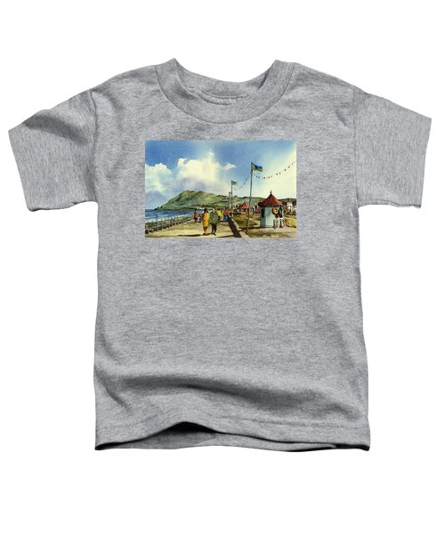As I Walk Along The Promenade With An Independant Air  ....... Toddler T-Shirt