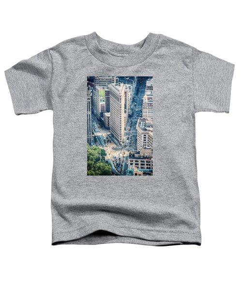 Flat Iron Building Toddler T-Shirt