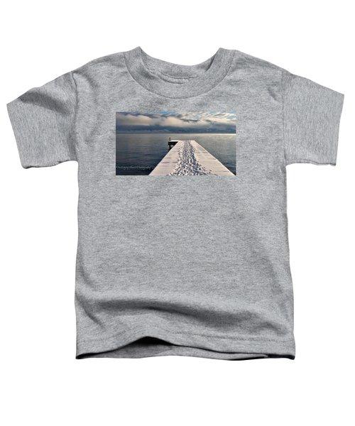 Flathead Lake Toddler T-Shirt
