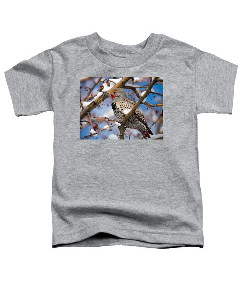 Flicker In Snow Toddler T-Shirt