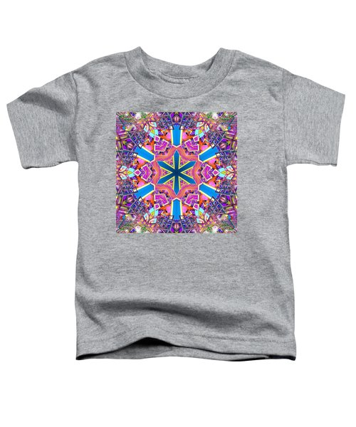 Floral Dreamscape Toddler T-Shirt