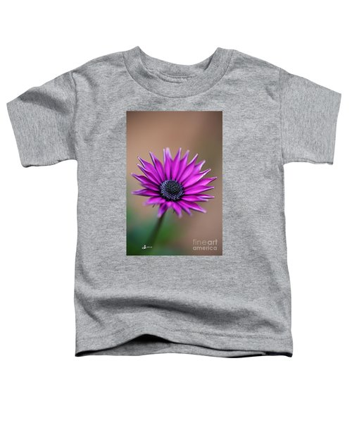 Flower-daisy-purple Toddler T-Shirt