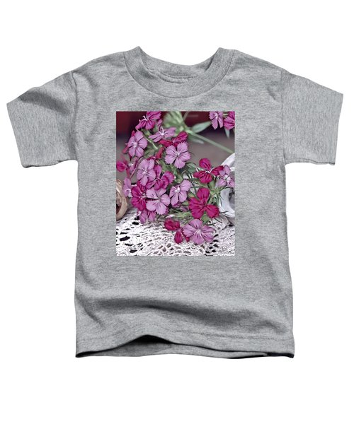 Flowers And Lace Toddler T-Shirt