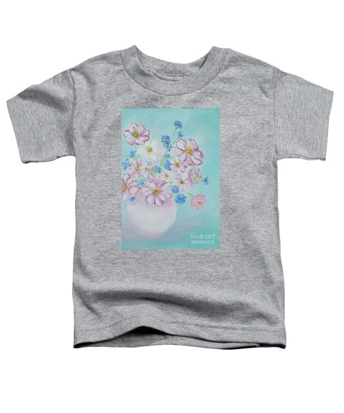 Flowers In A Vase. Inspirations Collection Toddler T-Shirt
