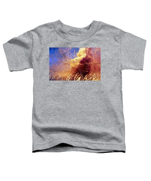 Flowers In Ice Toddler T-Shirt