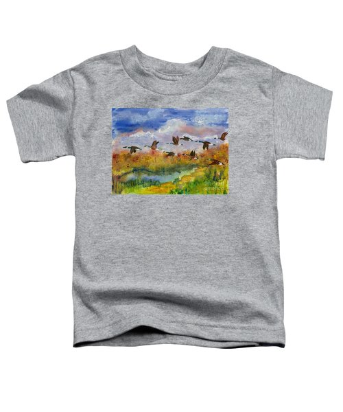 Flying South Toddler T-Shirt