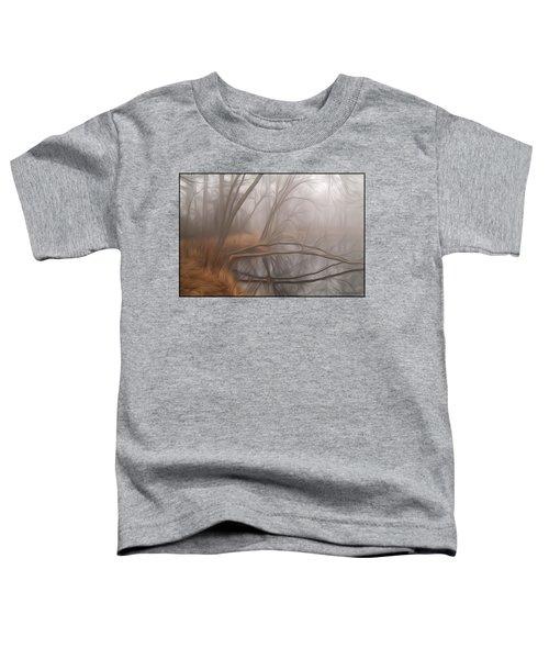 Foggy Fall Morning Toddler T-Shirt