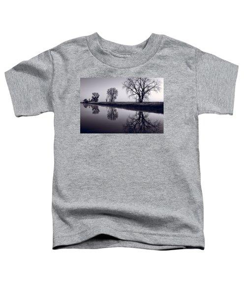 Foggy Morn Bw Toddler T-Shirt