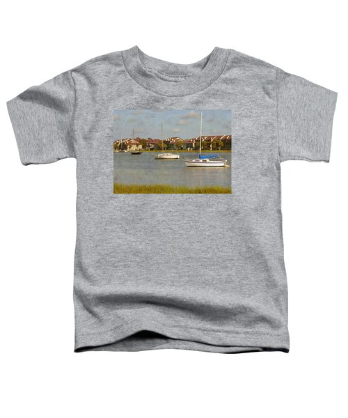 Folly Beach Boats Toddler T-Shirt