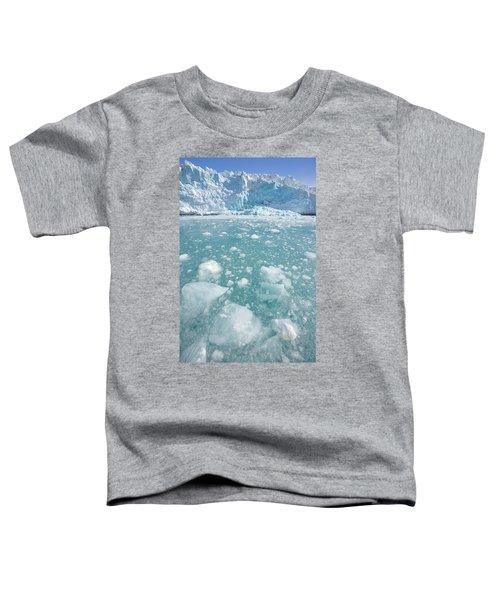 Fortuna Glacier Descending To Antarctic Toddler T-Shirt