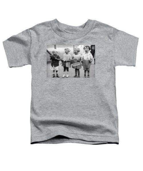 Four Young Children Singing Toddler T-Shirt
