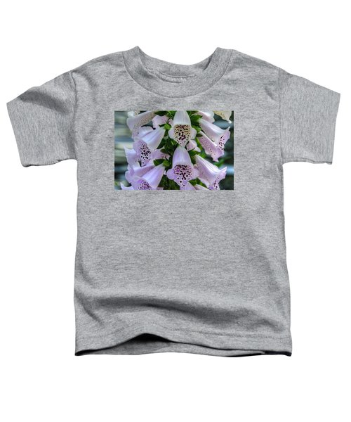 Foxglove At Waters Edge Toddler T-Shirt