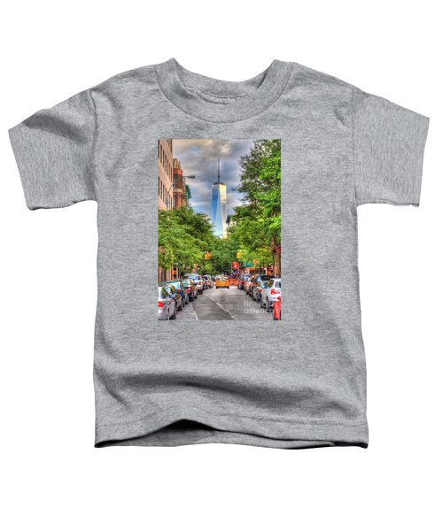 Freedom Tower Toddler T-Shirt