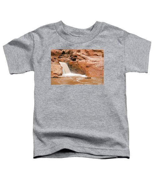 Fremont River Falls Capitol Reef National Park Toddler T-Shirt