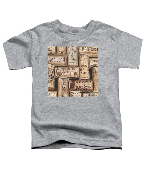 French Corks Toddler T-Shirt