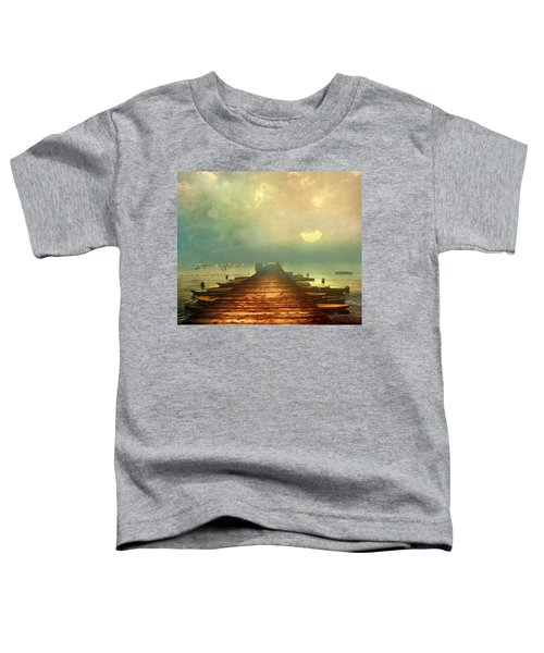 From The Moon To The Mist Toddler T-Shirt