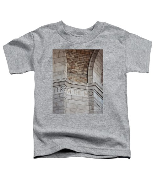 From The Moral... Toddler T-Shirt