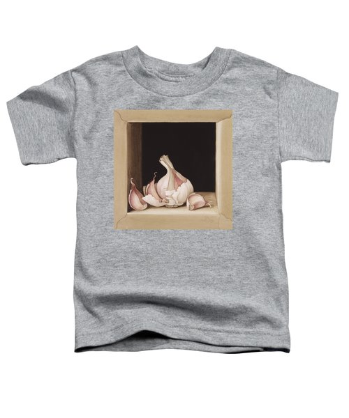Garlic Toddler T-Shirt